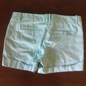 Mossimo Supply Co. Shorts - Mossimo | Mint Green Stretch Extensible Shorts 6